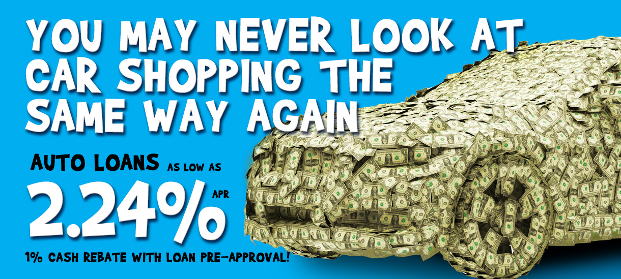 Auto Loans as low as 1.99%