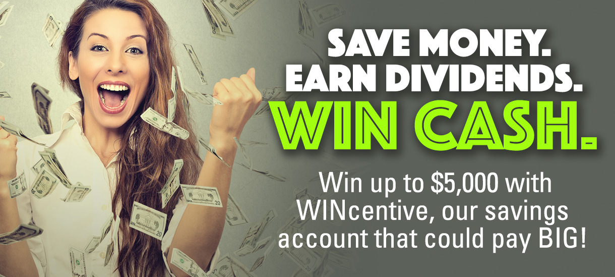 Win up to $5,000 for savings account